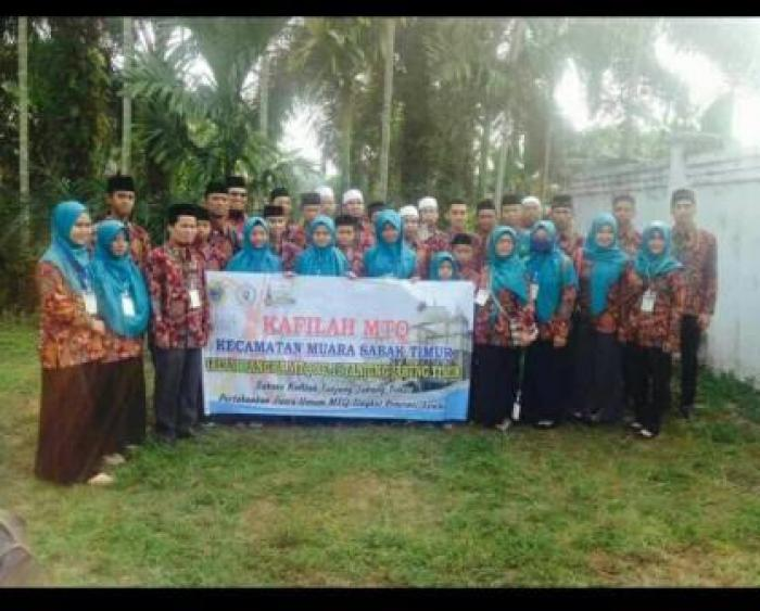 Siswa Madrasah Bustanul Ulum Simbur Naik Peserta Kafilah MTQ Ke-15 Tingkat Kabupaten Tanjung Jabung Timur