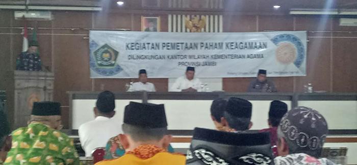 Kanwil Kemenag Provinsi Jambi Gelar Kegiatan Pemataan Paham Keagamaan Di Kabupaten Tanjung Jabung Timur