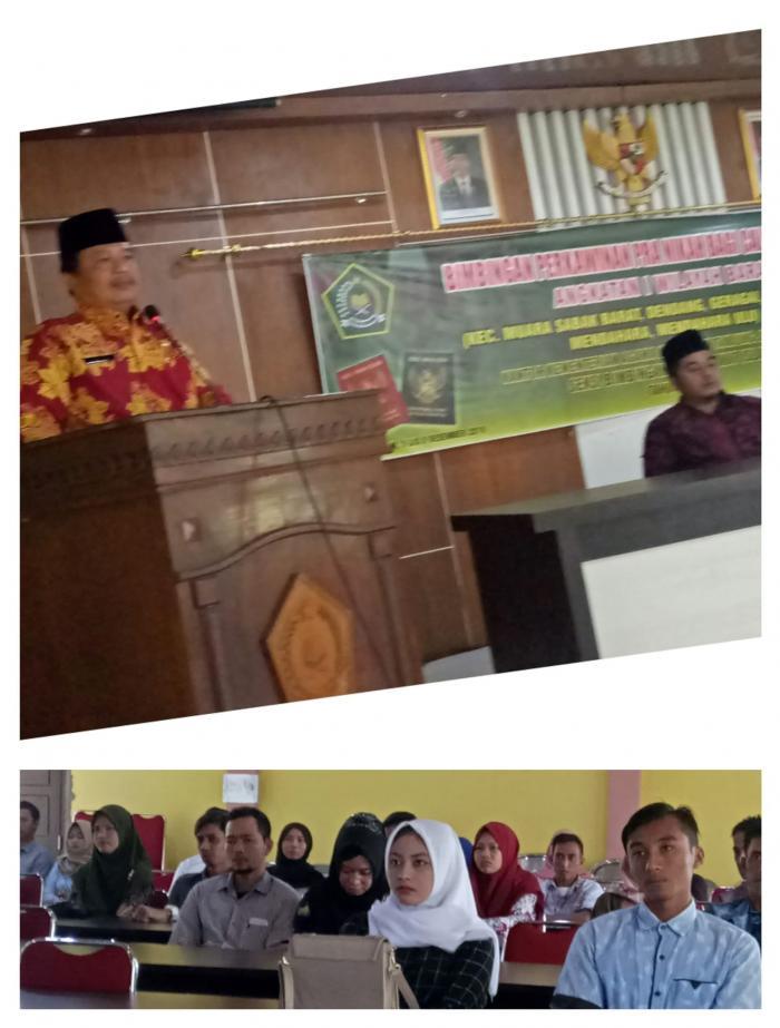 60 Pemuda Pemudi Tanjung Jabung Timur  siap Nikah Ikuti Bimbingan Perkawinan
