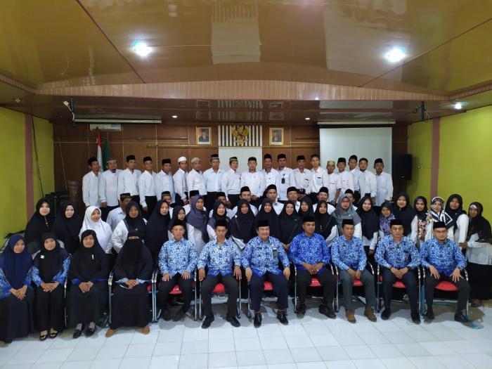 Kakan Kemenag Tanjung Jabung Timur Gelar Rapat Evaluasi Penyuluh Agama Islam Non PNS Tahun 2019