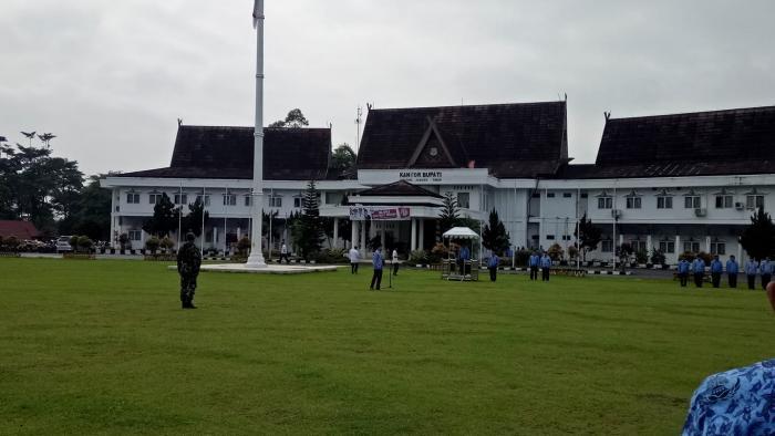 ASN Kemenag Tanjung Jabung Timur Ikut Upacara Hari Bela Negera ke 71 Tahun 2019