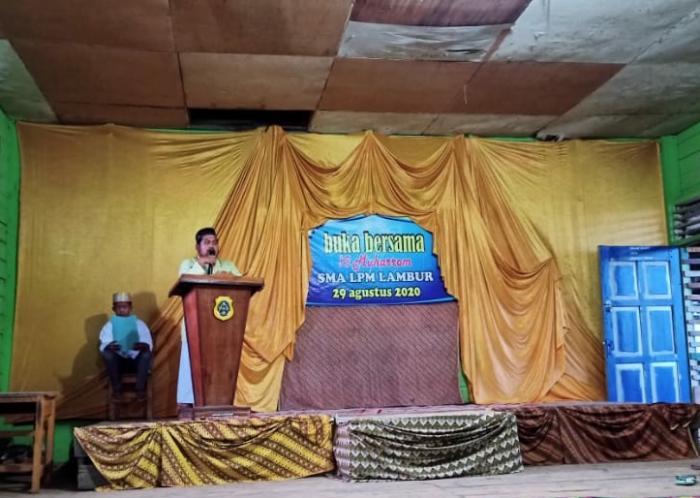 SMA LPM LAMBUR Adakan Buka Bersama puasa 10 Muharram