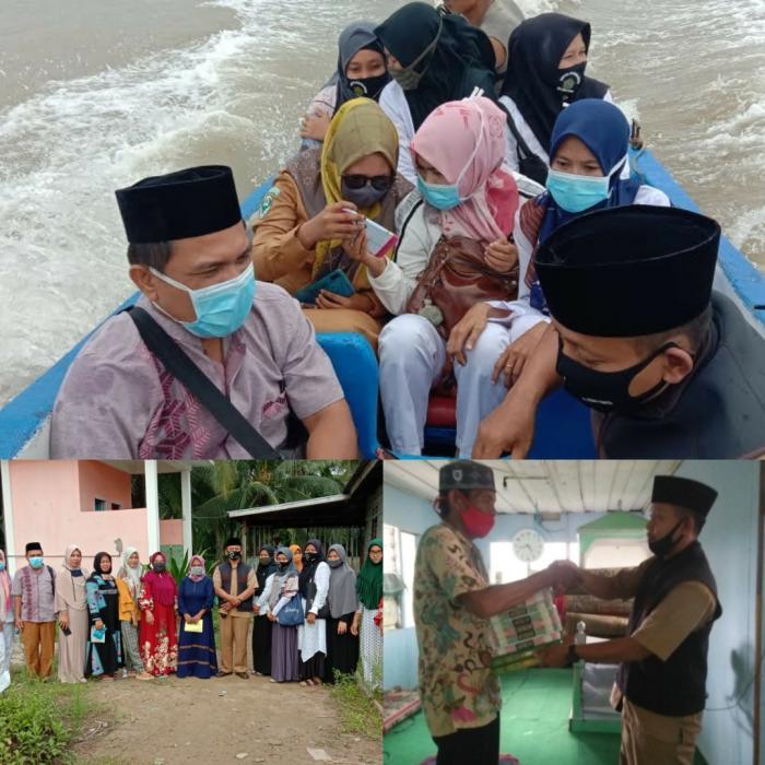 KUA Kuala Jambi bersama Puskesmas Kampung Laut laksanakan Penyuluhan