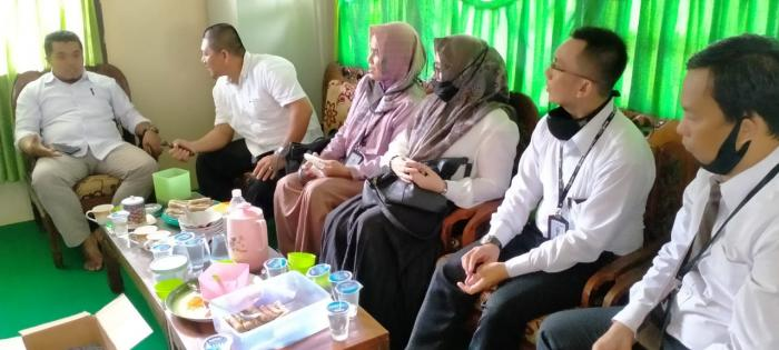 KUA Nipah sambut kedatangan Tim BPD Syariah