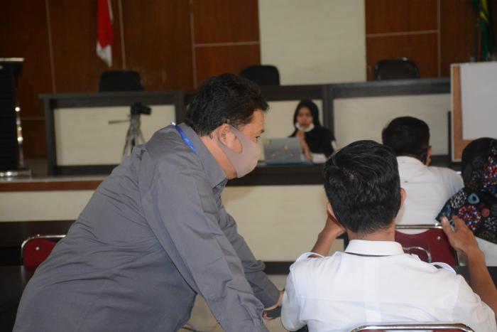 SKB hari pertama selesai. DR. H. Jamrizal, M.Pd : Semoga Yang Lulus adalah peserta yang Profesional dan Handal
