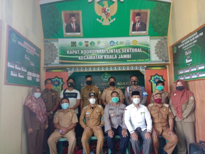 Rapat Koordinasi Lintas Sektoral Kecamatan Kuala Jambi
